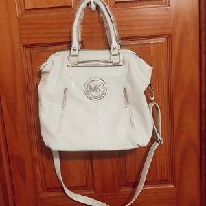 Handbags - Large cream colored purse